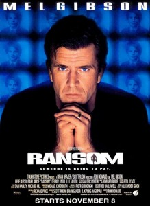Ransom stars Mel Gibson, Rene Russo, Gary Sinise, Delroy Lindo and Liev Schreiber.
