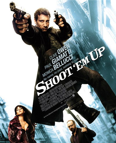 Clive Owen and Monica Belluci in Shoot 'Em Up