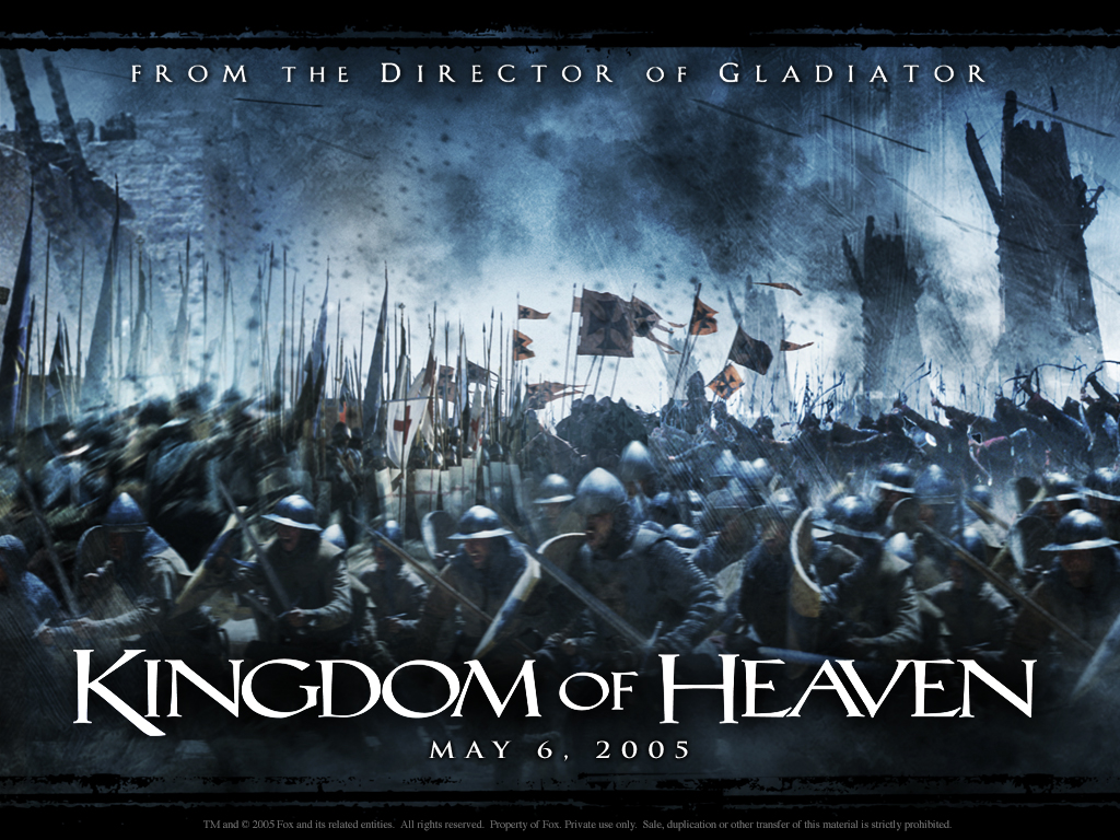 KINGDOM OF HEAVEN: Starring Orlando Bloom, Eva Green and Liam Neeson ...