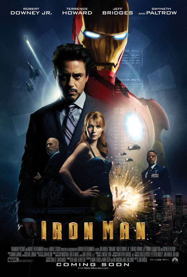Iron Man: Kick-ass Entertainment with Robert Downey Jr ...