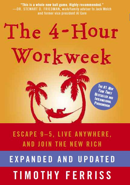 '4-Hour Workweek' by Tim Ferriss