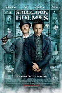 Sherlock holmes with Robert Downey Jr. and Jude Law