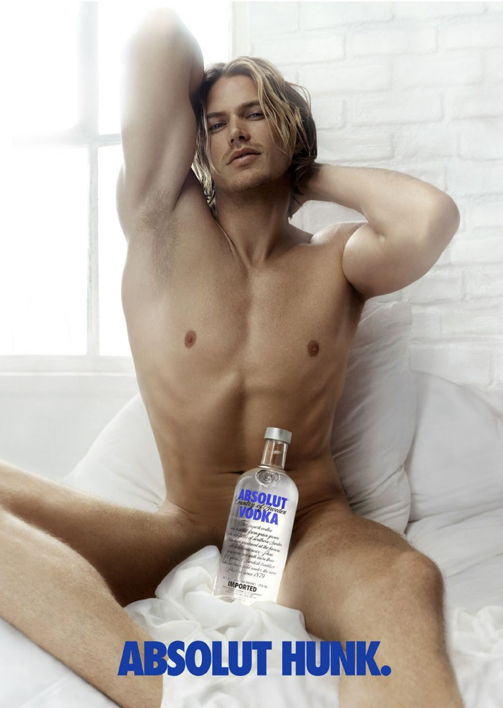 Jason Lewis, Absolut Hunk, Sex and The City