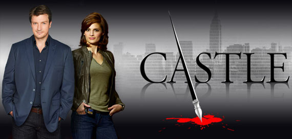 Castle series starring Nathan Fillion and Stana Katic