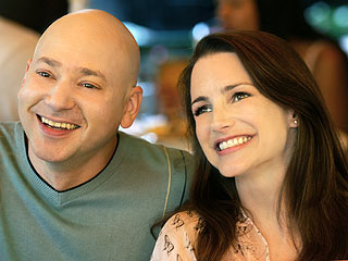 Evan Handler and Kristin Davis in Sex and The City