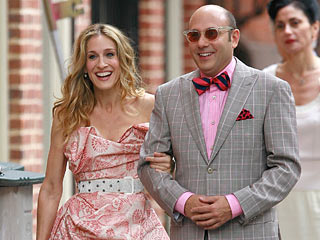 Sarah Jessica Parker and Willie Garson in Sex and The City