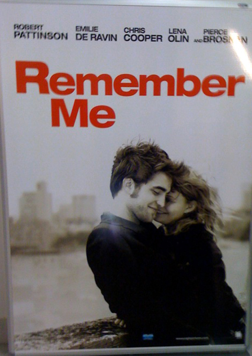 Remember Me starring Robert Pattinson, Emilie de Ravin, Pierce Brosnan, Chris Cooper and Lena Olin