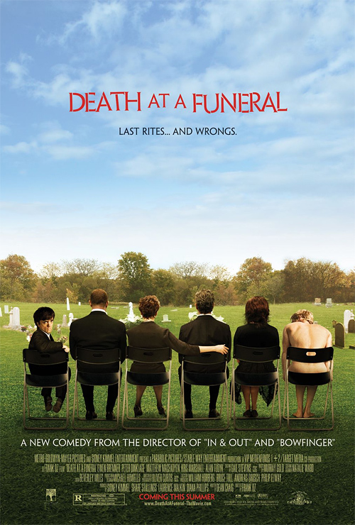 Death at a Funeral starring Matthew Macfadyen and Keeley Hawes