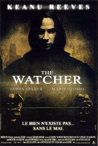 The Watcher starring Keanu Reeves, James Spader and Marisa Tomei ...