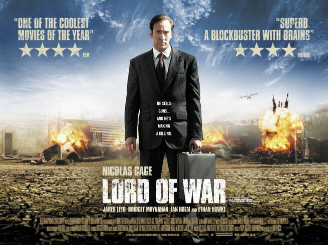 Lord of War starring Nicolas Cage