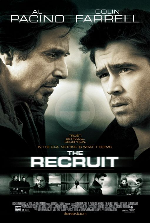 The Recruit starring Colin Farrell, Al Pacino and Bridget Moynahan