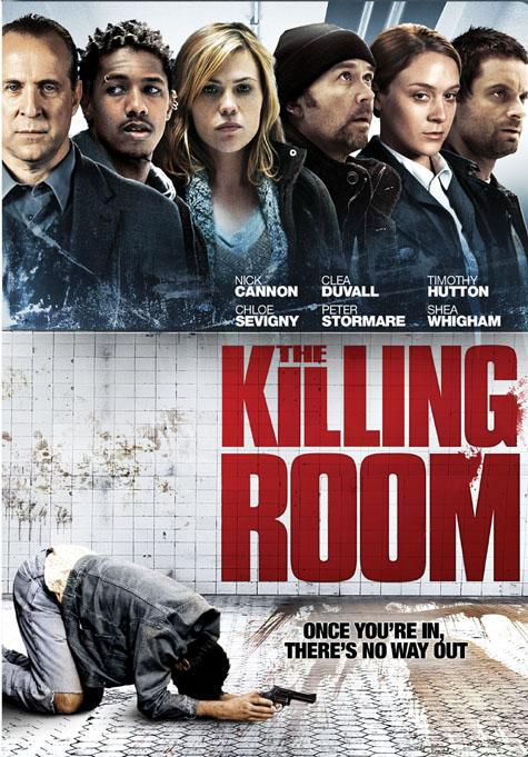 The Killing Room starring Timothy Hutton, Clea DuVall, Chloe Sevigny, Peter Stormare, Nick Cannon and Shea Whigham