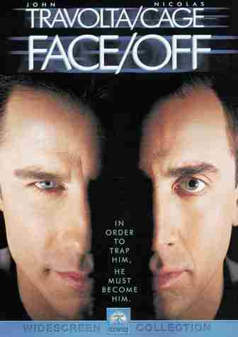 Face Off starring Nicolas Cage  Face Off Movie Cast
