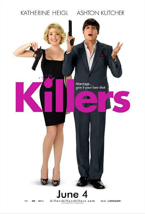 Killers starring Ashton Kutcher, Katherine Heigl, Tom Selleck and Catherine O'Hara