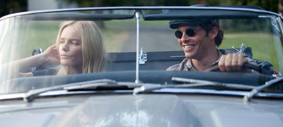 Still from the 2011 movie Straw Dogs- James Marsden & Kate Bosworth