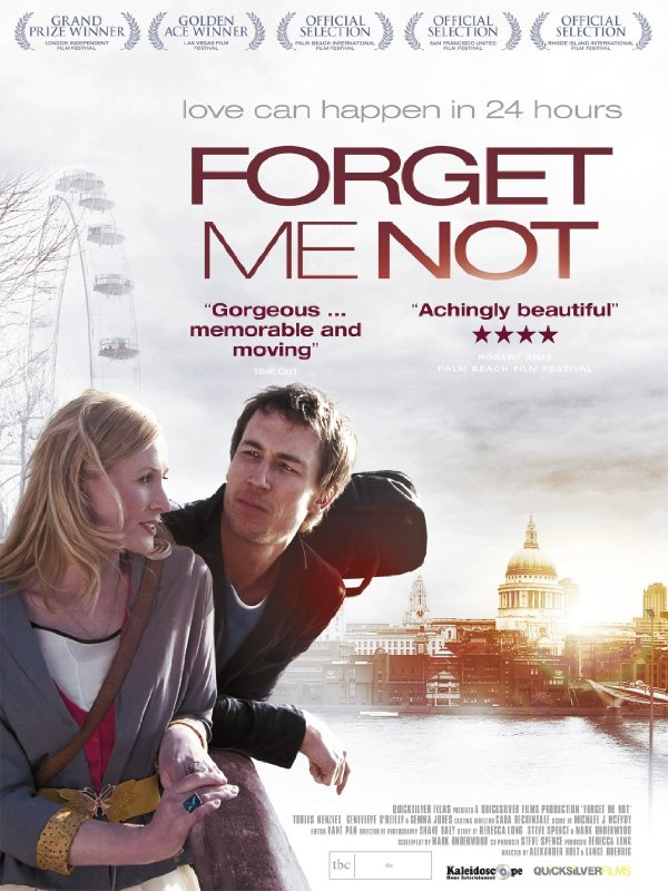 Forget Me Not starring Tobias Menzies and Genevieve O'Reilly. 2010 movie.