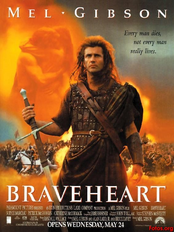 My Favorite Movie Proposal: Braveheart – William Wallace ... Bradley Cooper Md