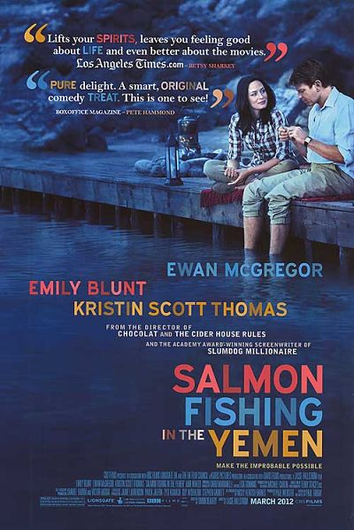 Salmon Fishing in the Yemen starring Ewan McGregor & Emily Blunt