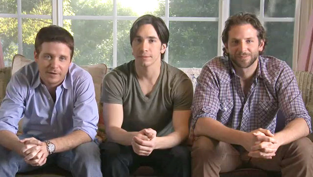 Kevin Connolly, Justin Long, Bradley Cooper