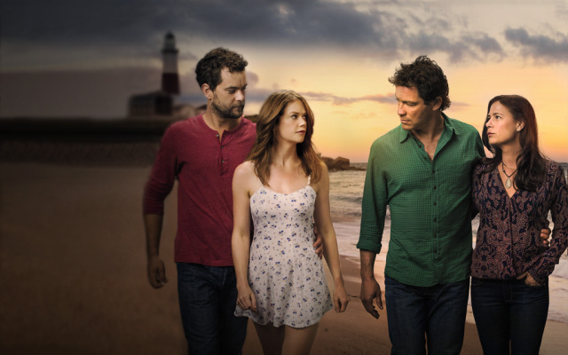 The Affair cast: Joshua Jackson, Ruth Wilson, Dominic West,  Maura Tierney.