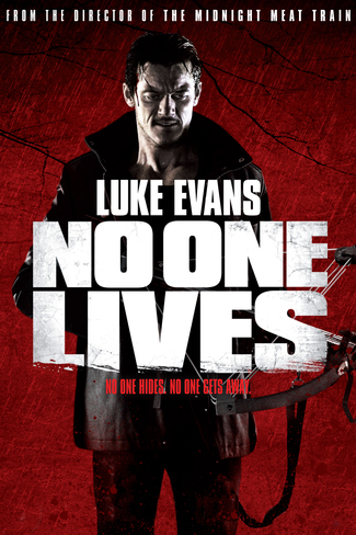 No One Lives movie poster starring Luke Evans