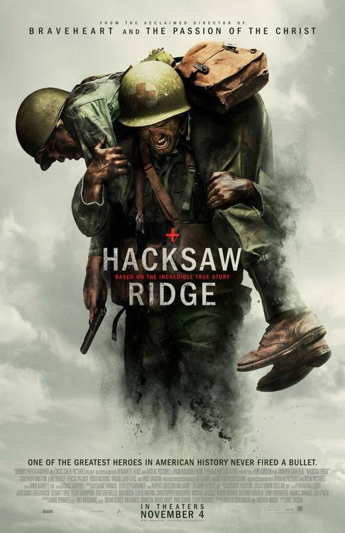 Hacksaw Ridge starring Andrew Garfield